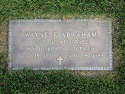 Wayne F Abraham