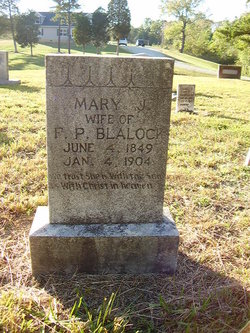 Mary Jane <i>Oakley</i> Blalock