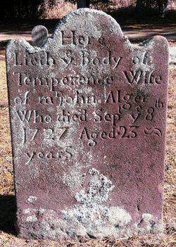 Temperance <i>Tillotson</i> Alger