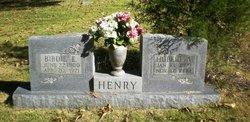 Birdie E. <i>Logan</i> Henry