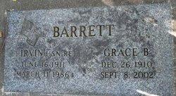 Grace Balbina <i>Hogg</i> Barrett