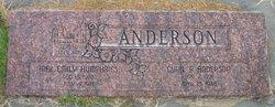 Inez Emily <i>Humphries</i> Anderson