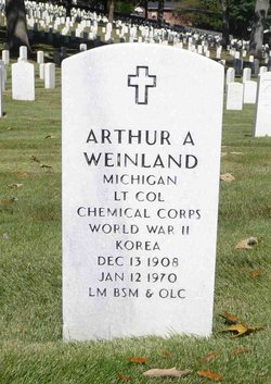 Arthur A Weinland