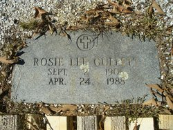 Rosie Lee <i>Butler</i> Gullett