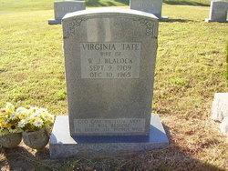 Virginia Elizabeth <i>Tate</i> Blalock