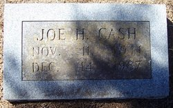 Joseph Herbert Joe Cash