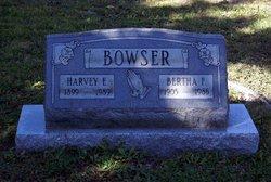 Bertha Florence <i>Buck</i> Bowser