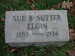 Sue B. <i>Sutter</i> Elgin