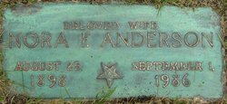 Nora F. <i>Foster</i> Anderson