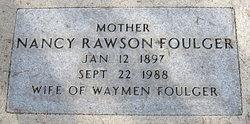 Nancy Leah Dot <i>Rawson</i> Foulger