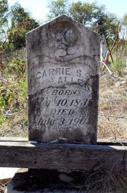 Carrie S Allen