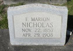 Francis Marion Nicholas
