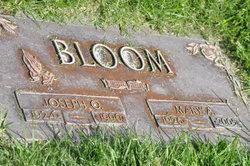 Joseph Oliver <i>Morse</i> Bloom
