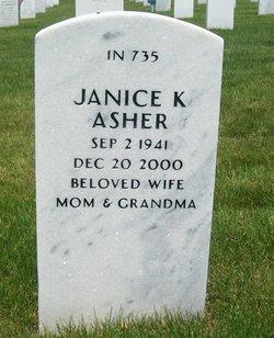 Janice Kay <i>Marion</i> Asher