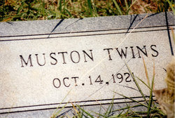 Infant Twins Muston