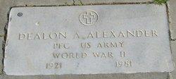 Dealon A. Alexander