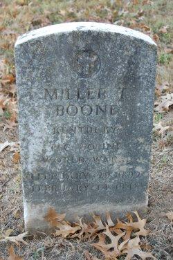 PFC Miller T Boone