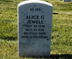 Alice G Jewell