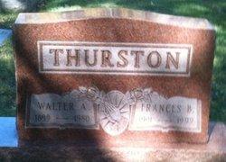 Walter A Thurston