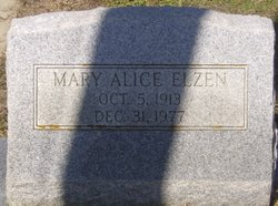 Mary Alice Elzen