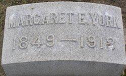 Margaret Elizabeth <i>Mikeworth</i> York