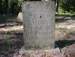 Joseph Benjamin Joe Ben Rigdon
