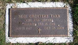 Rose Kathleen <i>Groeteke</i> Farr
