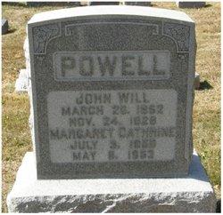 Margaret Catherine <i>Moser</i> Powell