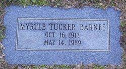 Myrtle <i>Tucker</i> Barnes