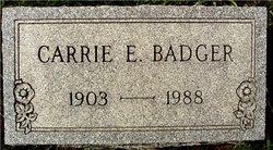 Carrie Elizabeth <i>Bauder</i> Badger