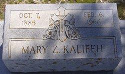 Mary <i>Zoghby</i> Kalifeh