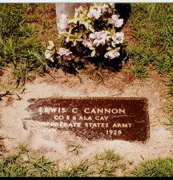 Lewis C L.C. Cannon