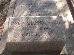 Jane Arnold <i>Shannon</i> Heath