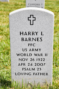 Harry L Barnes