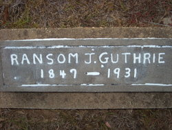 Ransom Johnson Guthrie