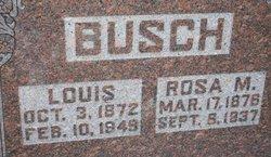 Rose M. <i>Talkington</i> Busch