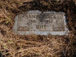 Anna Mary Annie <i>Williams</i> Black