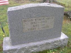 Bessie May <i>Wyman</i> Smith