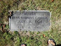 Rena <i>Hawkins</i> Cannon