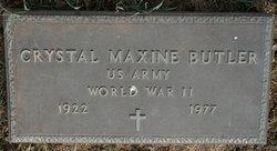 Crystal Maxine Butler