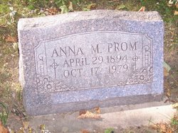 Anna M Prom