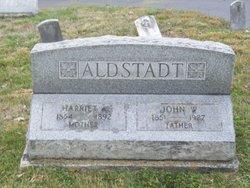 Harriet A <i>Hann</i> Aldstadt