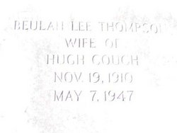 Beulah Lee <i>Thompson</i> Couch