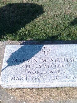 Corp Marvin M Althiser
