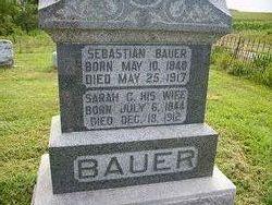 Sarah C <i>Evans</i> Bauer