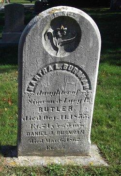Martha L. <i>Butler</i> Burnham