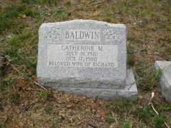 Catherine M Baldwin