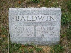 Frances E <i>Gardiner</i> Baldwin