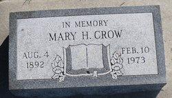 Mary Hyde <i>Millard</i> Crow