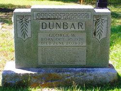 George Washington Dunbar, III
